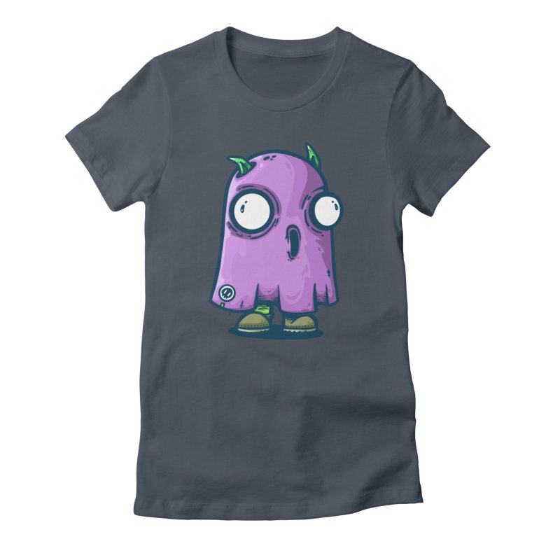 ghost trying to scare Women's T-Shirt by manuvila