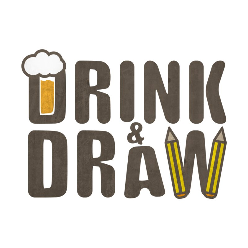drink & draw Accessories Face Mask by manuvila