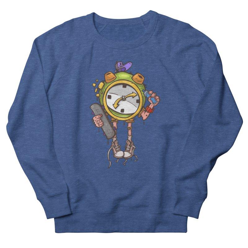 millennial alarm clock Men's Sweatshirt by manuvila