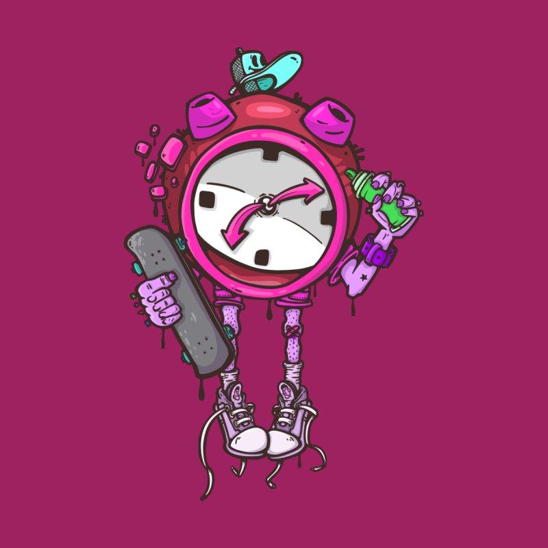 millennial alarm clock colors Men's Longsleeve T-Shirt by manuvila