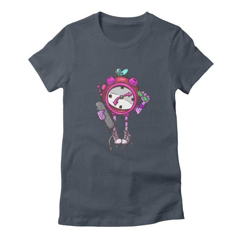 millennial alarm clock colors Women's T-Shirt by manuvila