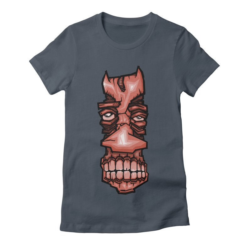 Red face Women's T-Shirt by manuvila