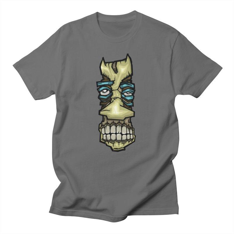 strange color face Men's T-Shirt by manuvila