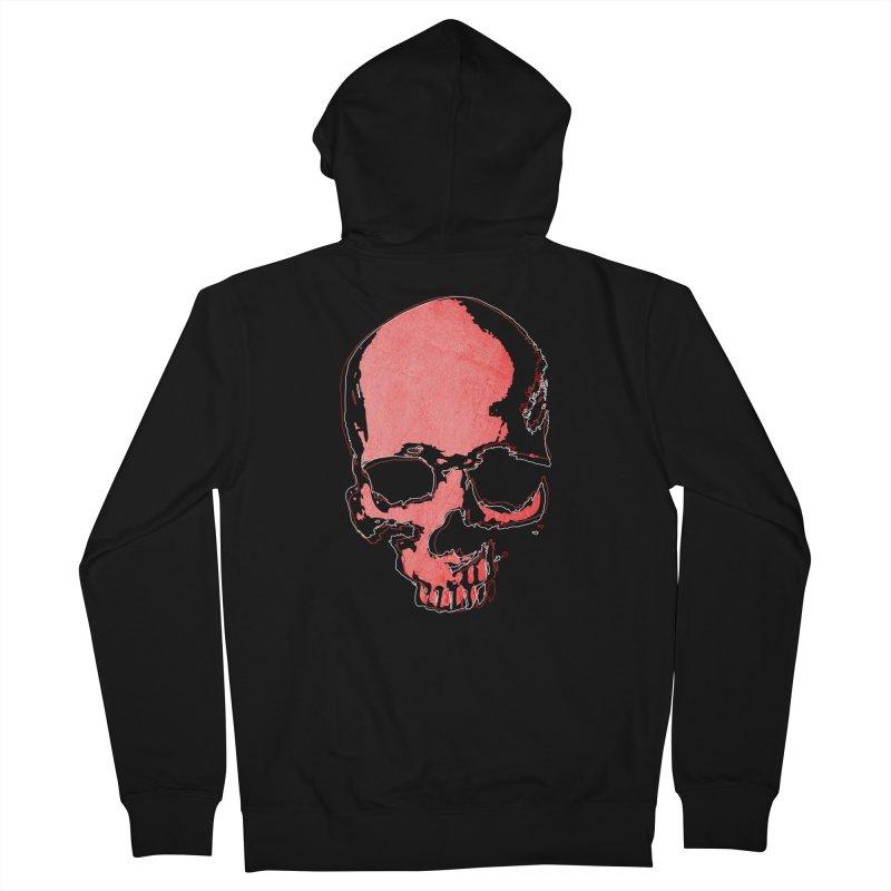 red skull Women's Zip-Up Hoody by manuvila