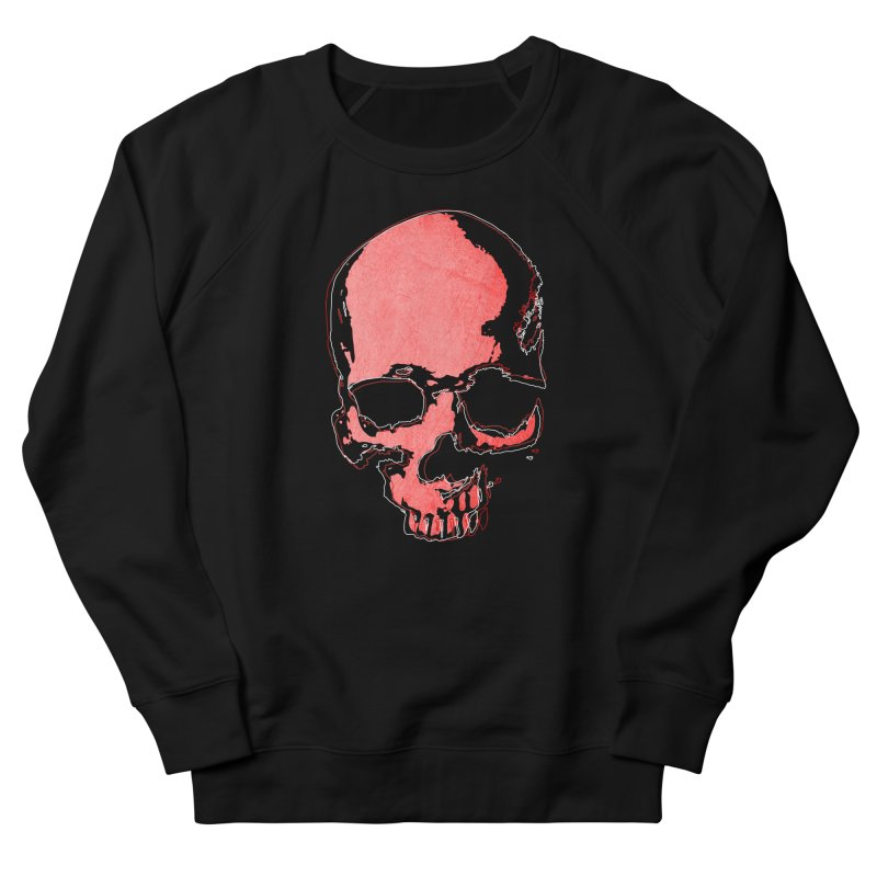 red skull Men's Sweatshirt by manuvila