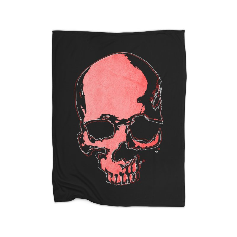 red skull Home Blanket by manuvila