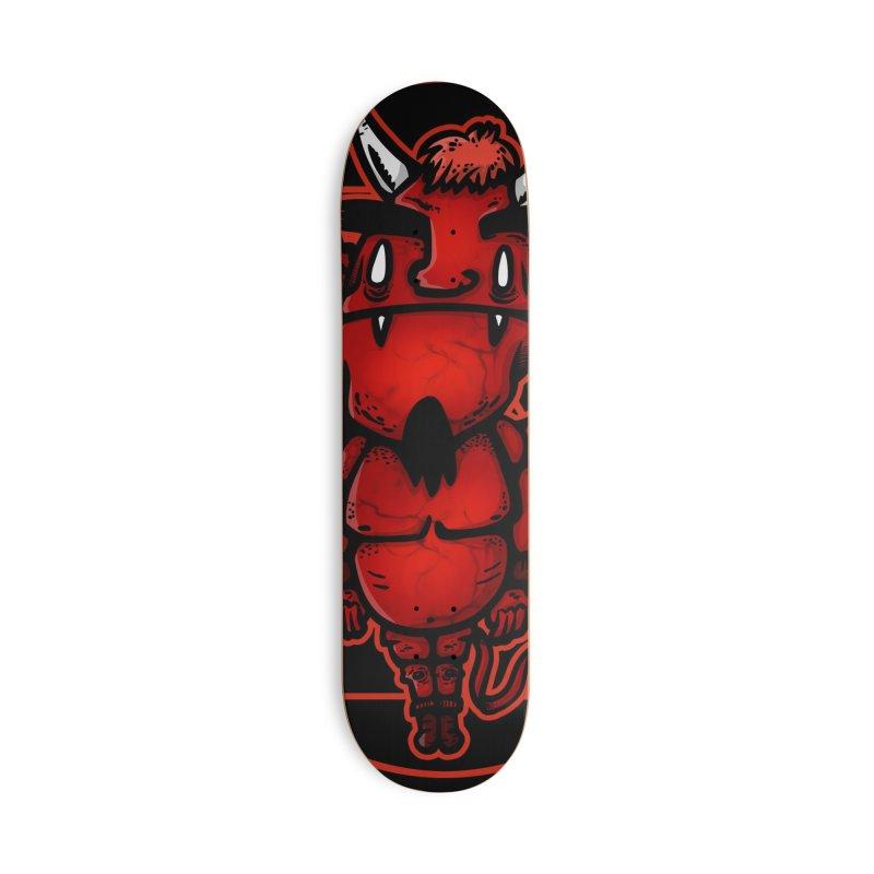 fat demon Accessories Skateboard by manuvila