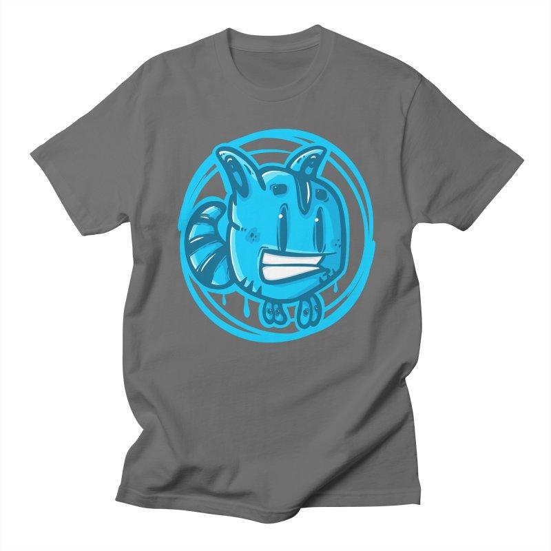 blue bug Men's T-Shirt by manuvila