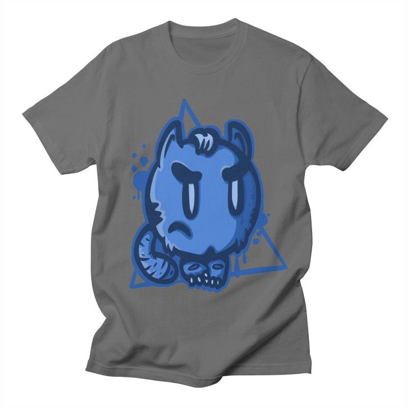 dark blue bug Men's T-Shirt by manuvila