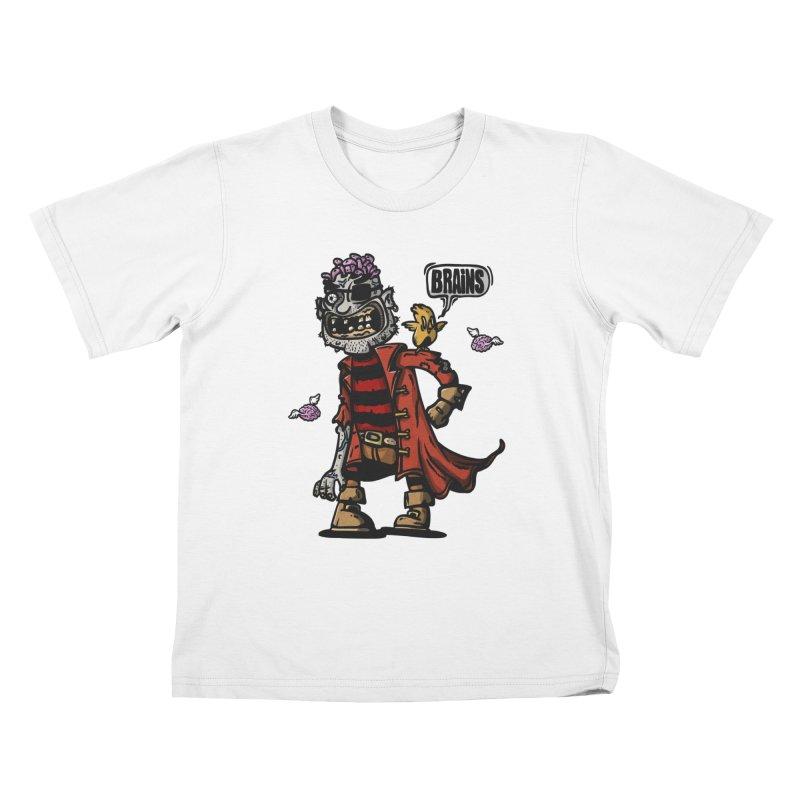 pirate zombie Kids T-Shirt by manuvila