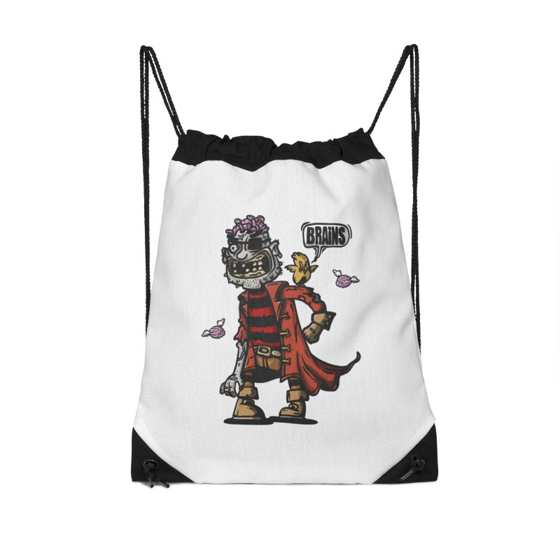 pirate zombie Accessories Bag by manuvila