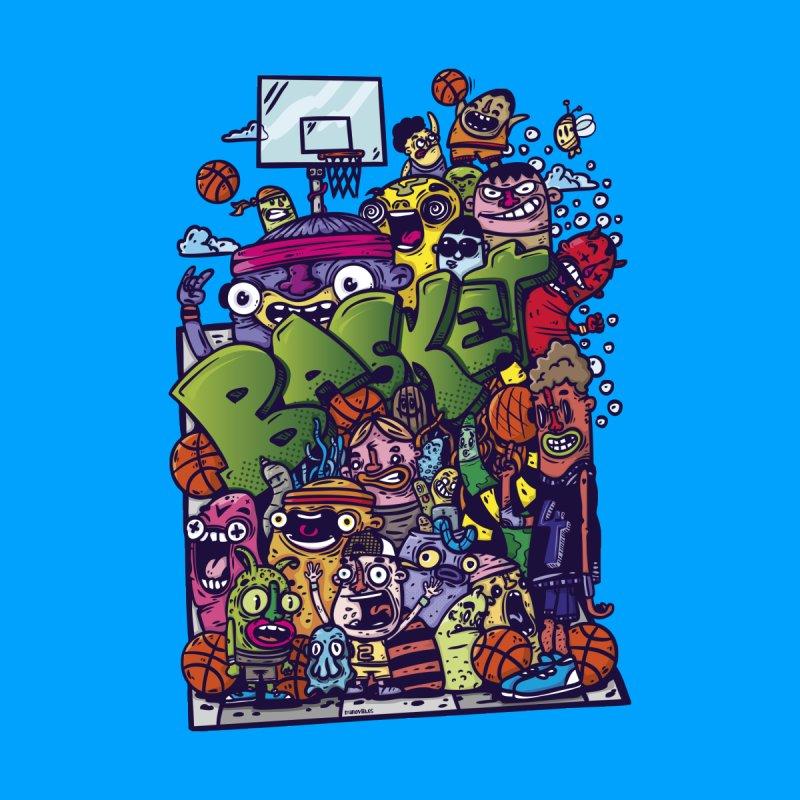 basket Men's T-Shirt by manuvila