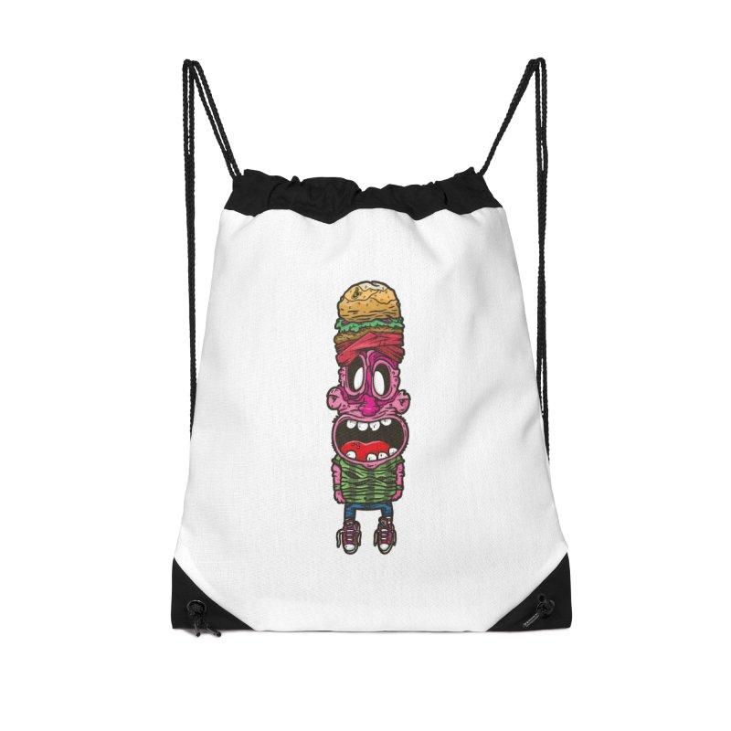 burger man Accessories Bag by manuvila