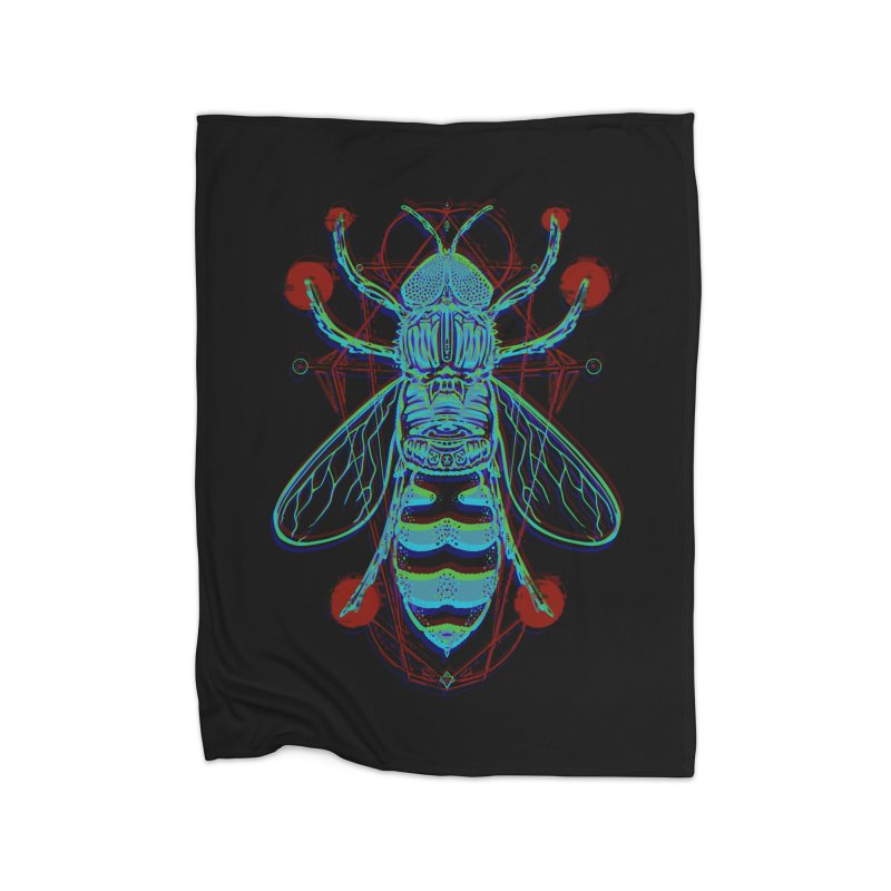 wasp Home Blanket by manuvila