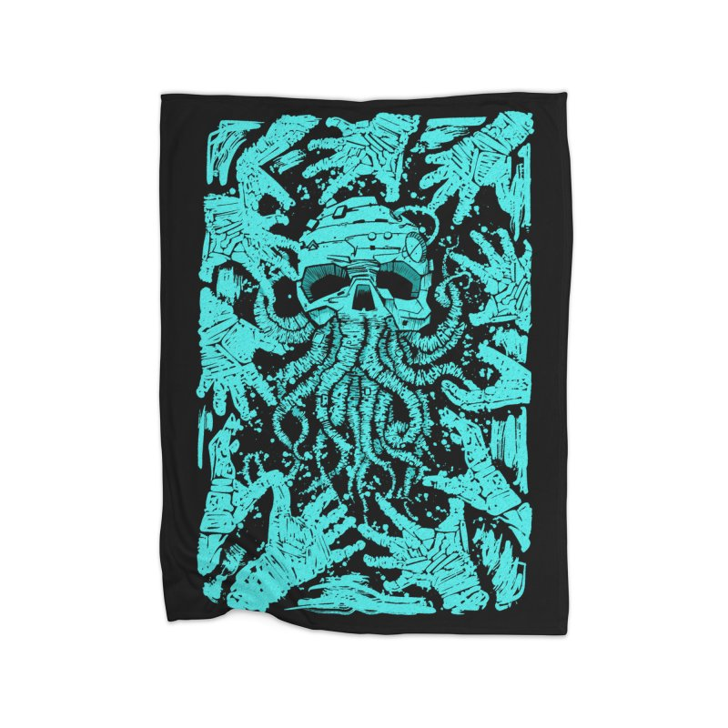 nightmare blue Home Blanket by manuvila