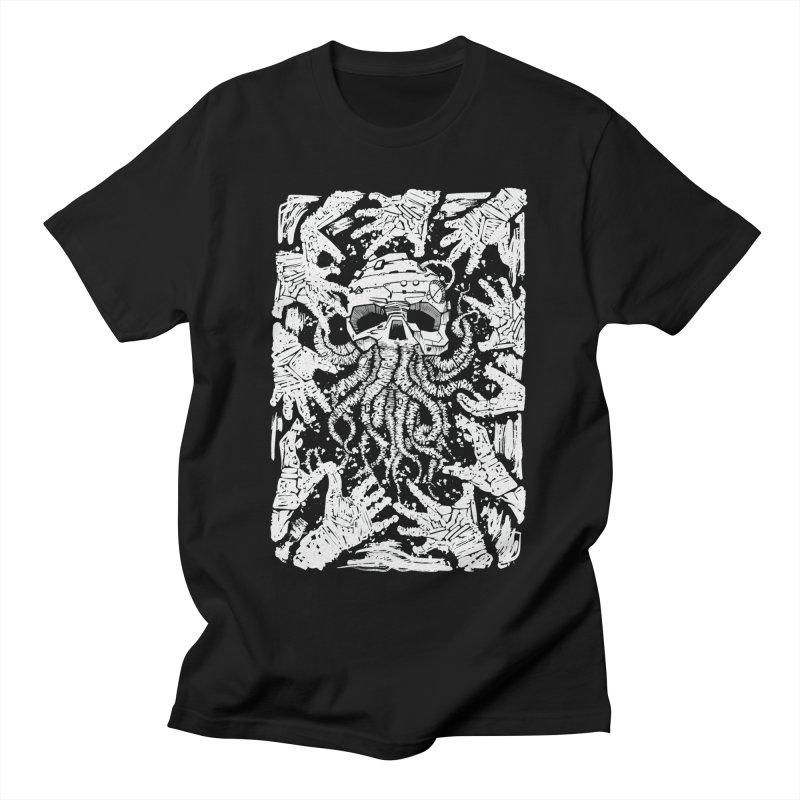 white nightmare Men's T-Shirt by manuvila