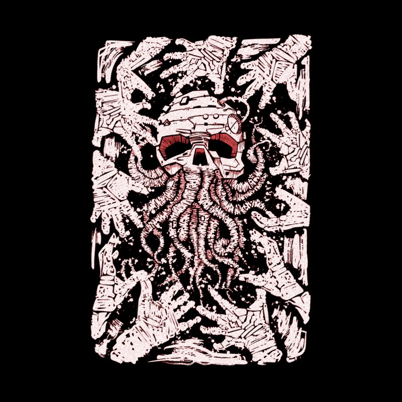 red nightmare Home Blanket by manuvila