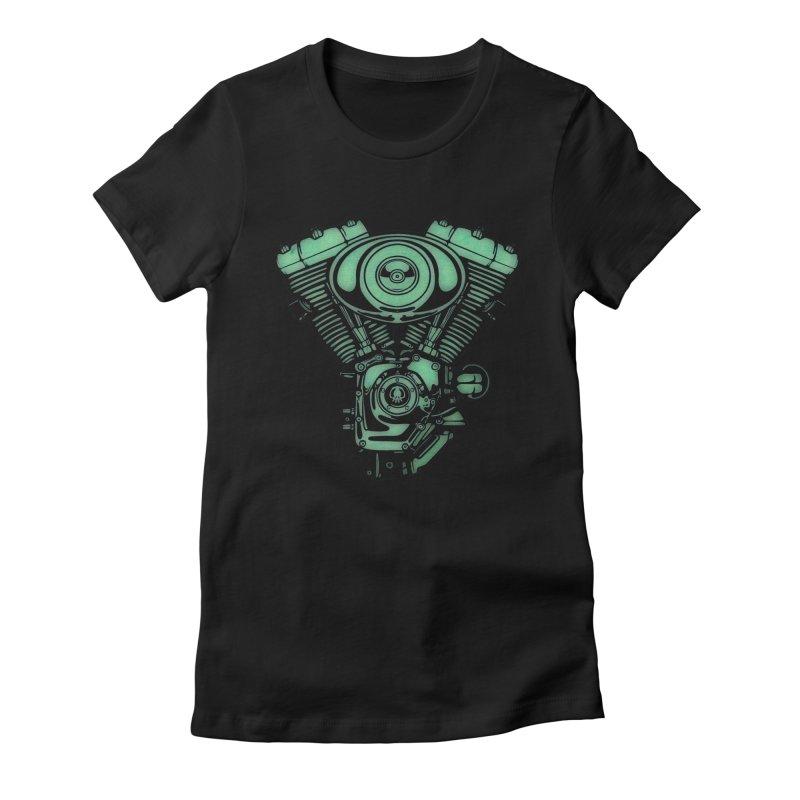 motor2 Women's T-Shirt by manuvila