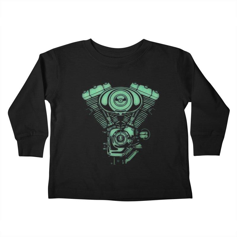 motor2 Kids Toddler Longsleeve T-Shirt by manuvila