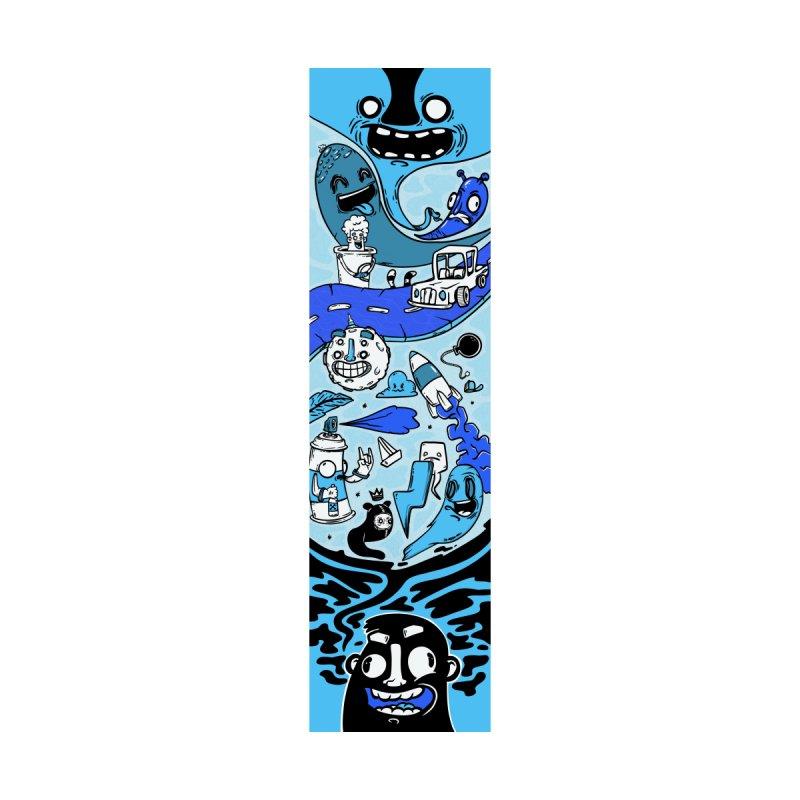 doodle skate Home Fine Art Print by manuvila