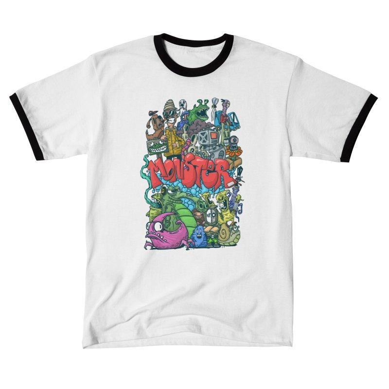 monster Women's T-Shirt by manuvila