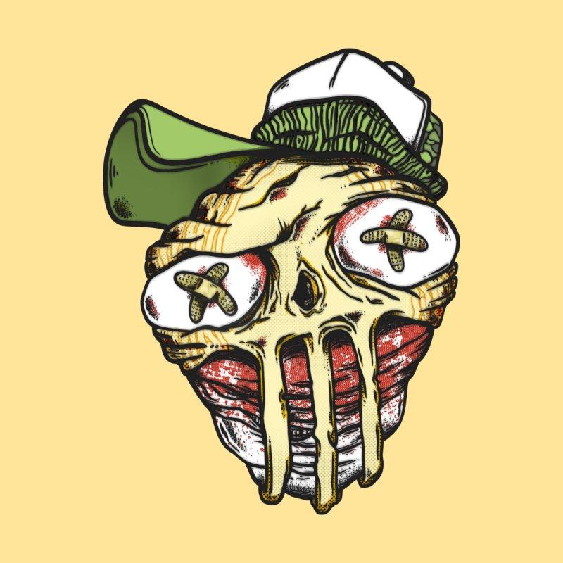 strange face Men's T-Shirt by manuvila