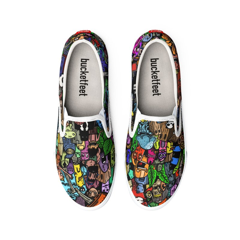 Pattern color Men's Shoes by manuvila