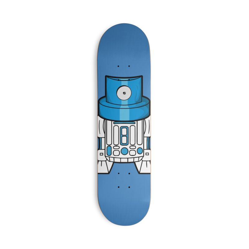 R2 Accessories Deck Only Skateboard by manuvila