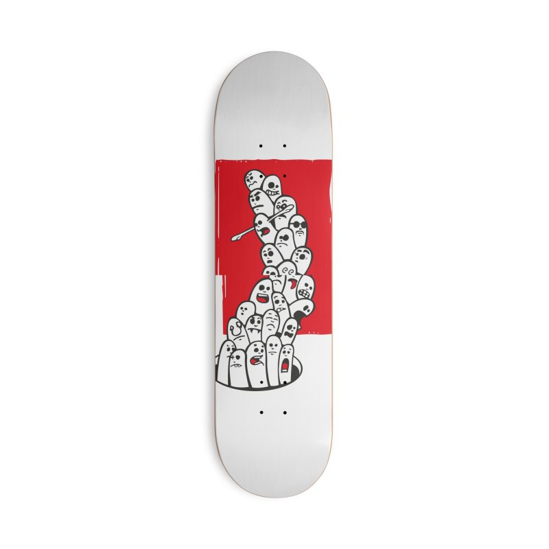 fingers Accessories Deck Only Skateboard by manuvila