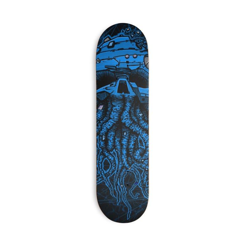 blue kraken Accessories Deck Only Skateboard by manuvila