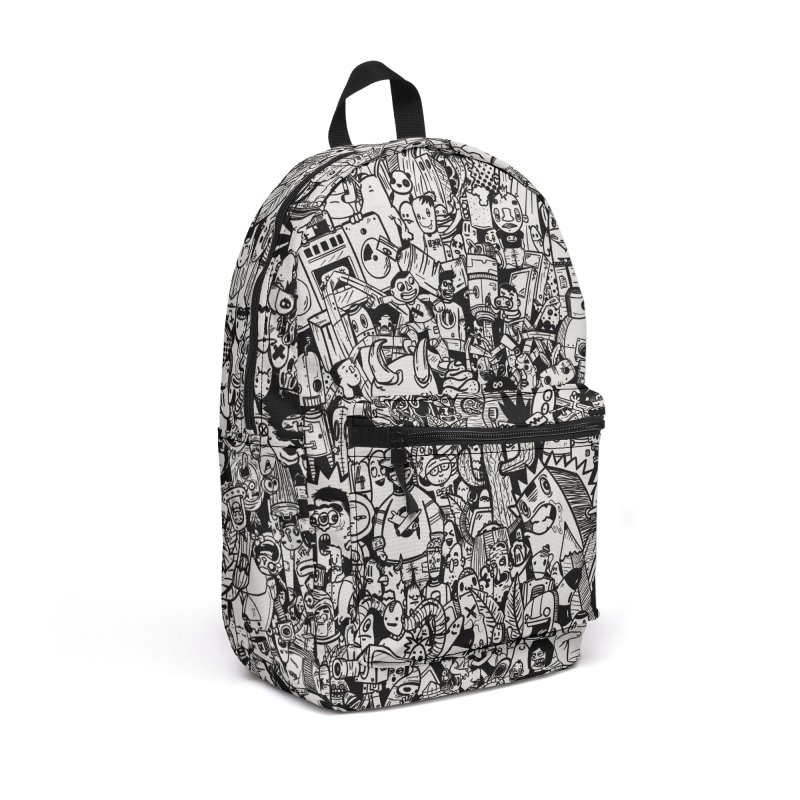 Doodle Accessories Backpack Bag by manuvila