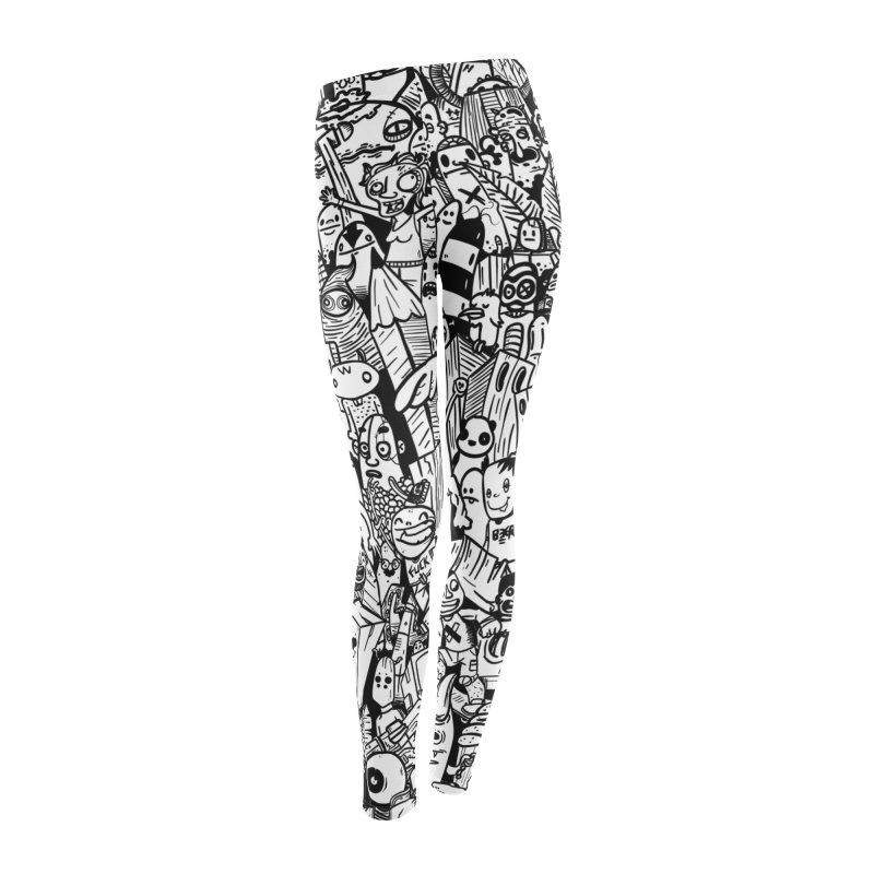 Doodle Women's Leggings Bottoms by manuvila