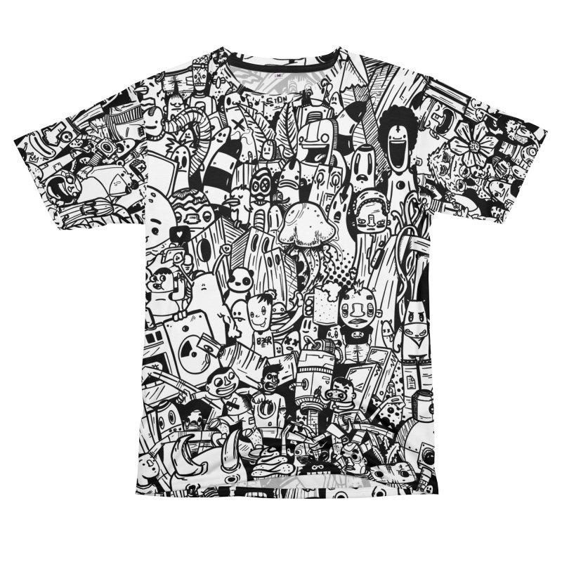 Doodle Men's T-Shirt Cut & Sew by manuvila