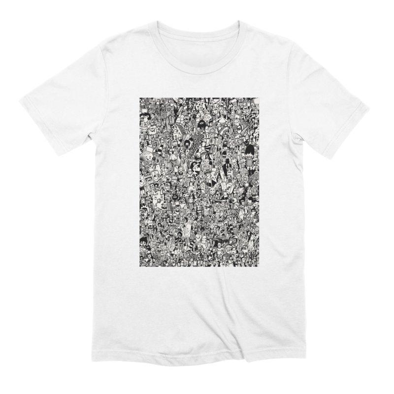 Doodle Men's T-Shirt by manuvila