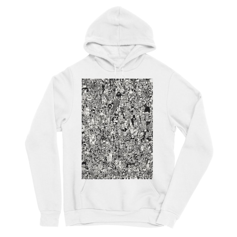 Doodle Men's Pullover Hoody by manuvila