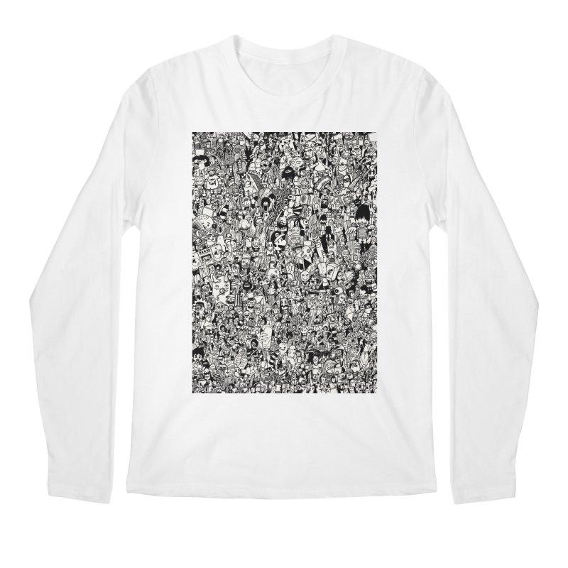 Doodle Men's Longsleeve T-Shirt by manuvila