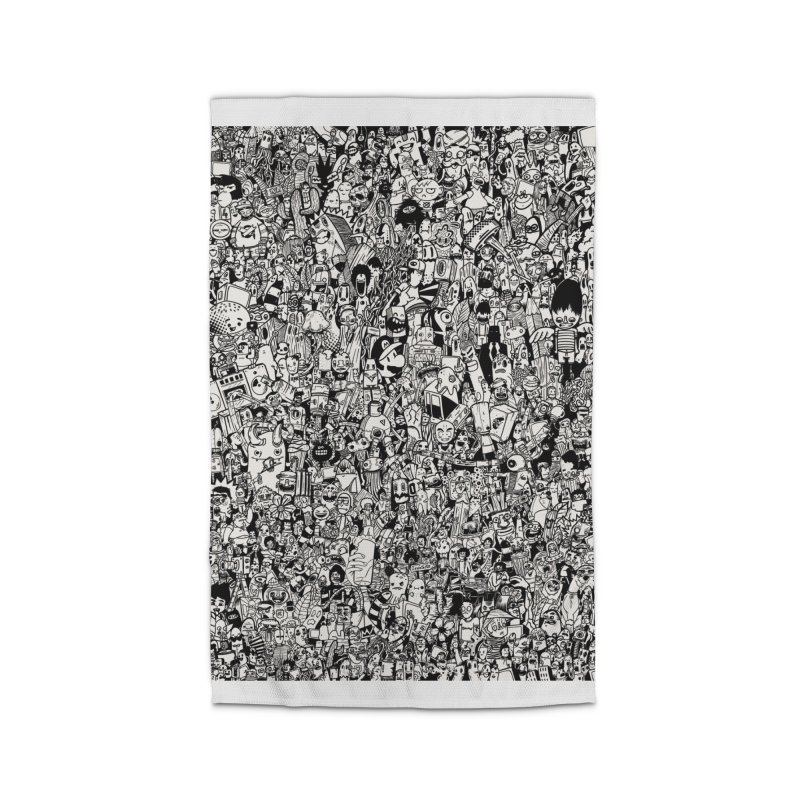Doodle Home Rug by manuvila