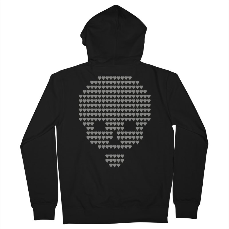Death Women's French Terry Zip-Up Hoody by manuvila