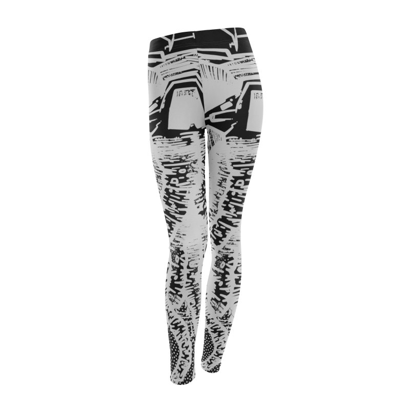 kraken punk Women's Leggings Bottoms by manuvila