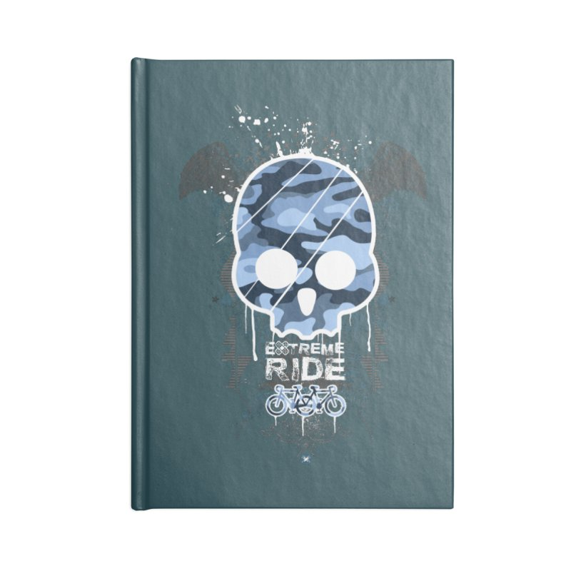 extreme ride Accessories Blank Journal Notebook by manuvila