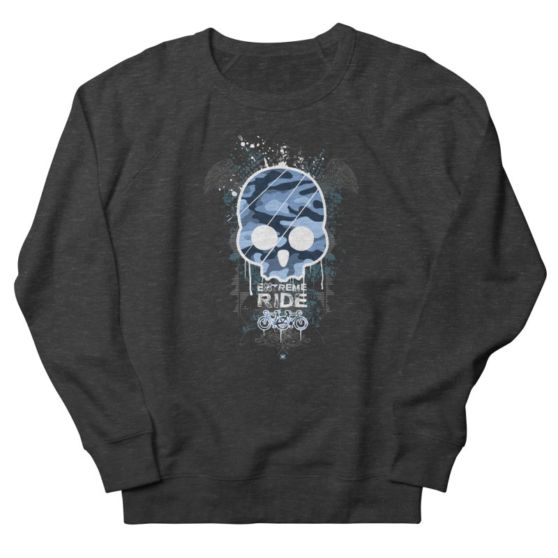 extreme ride Women's French Terry Sweatshirt by manuvila