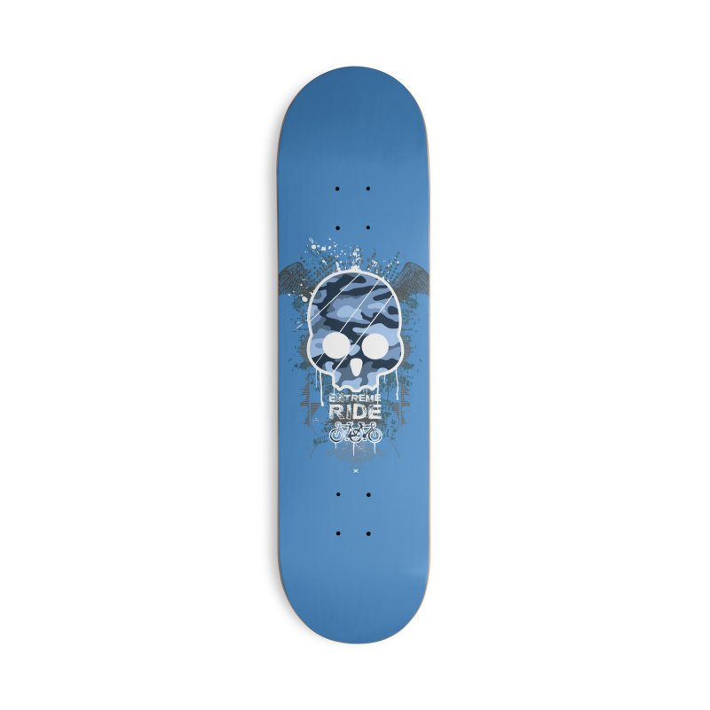extreme ride Accessories Deck Only Skateboard by manuvila