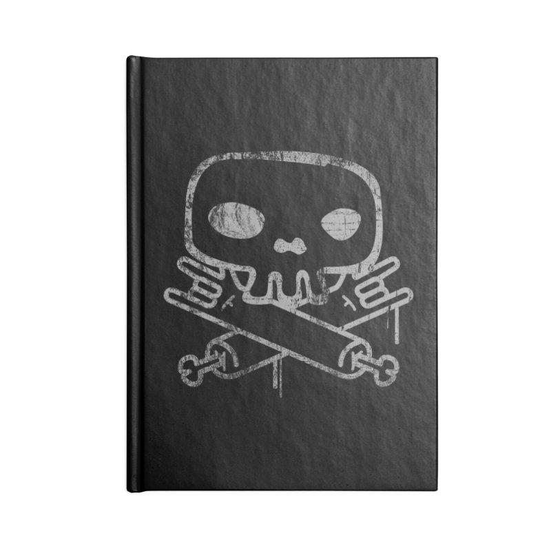 Skullrock Accessories Blank Journal Notebook by manuvila