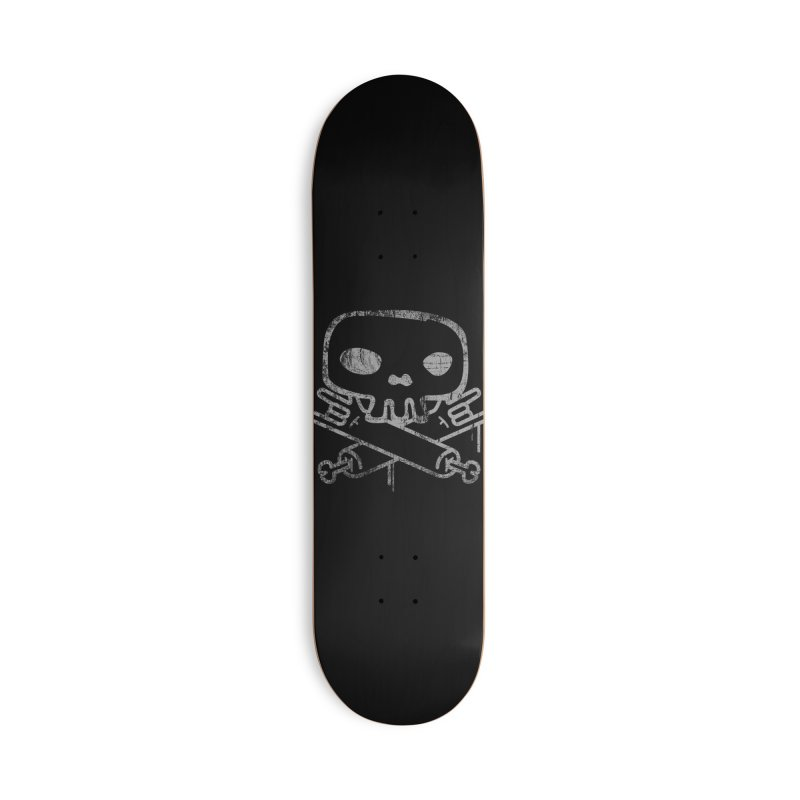 Skullrock Accessories Deck Only Skateboard by manuvila
