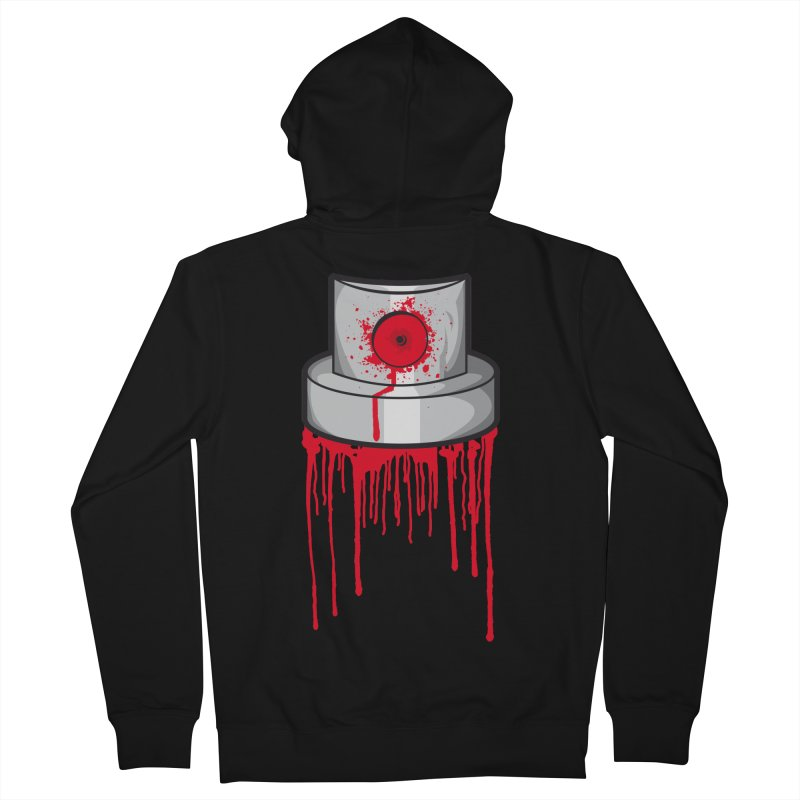 Blood cap Men's French Terry Zip-Up Hoody by manuvila