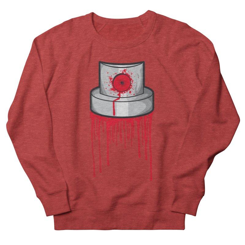 Blood cap Women's French Terry Sweatshirt by manuvila