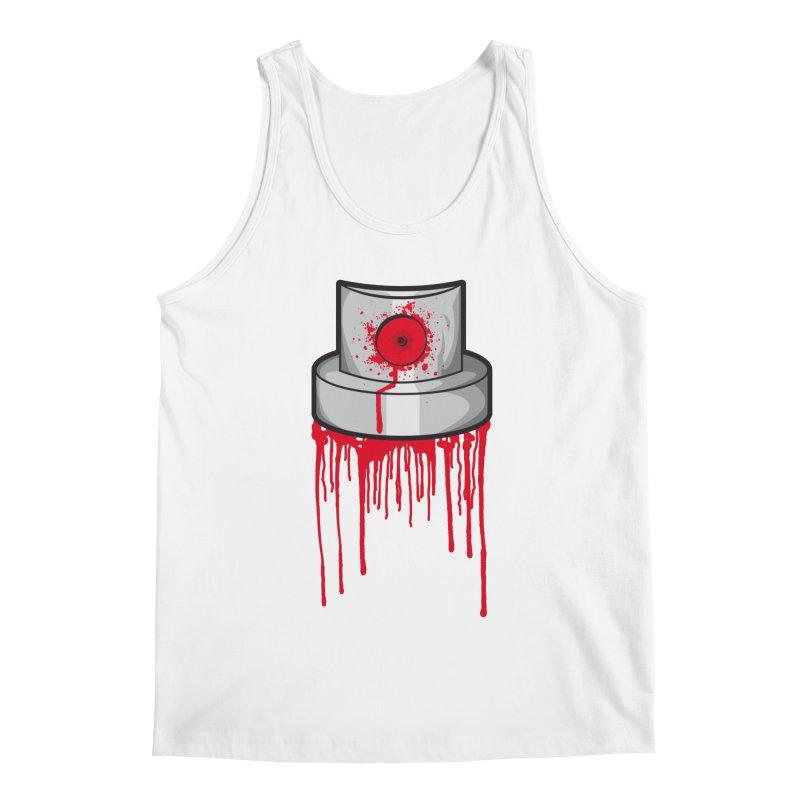 Blood cap Men's Regular Tank by manuvila