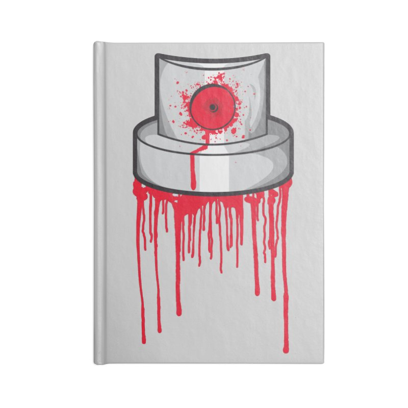 Blood cap Accessories Blank Journal Notebook by manuvila