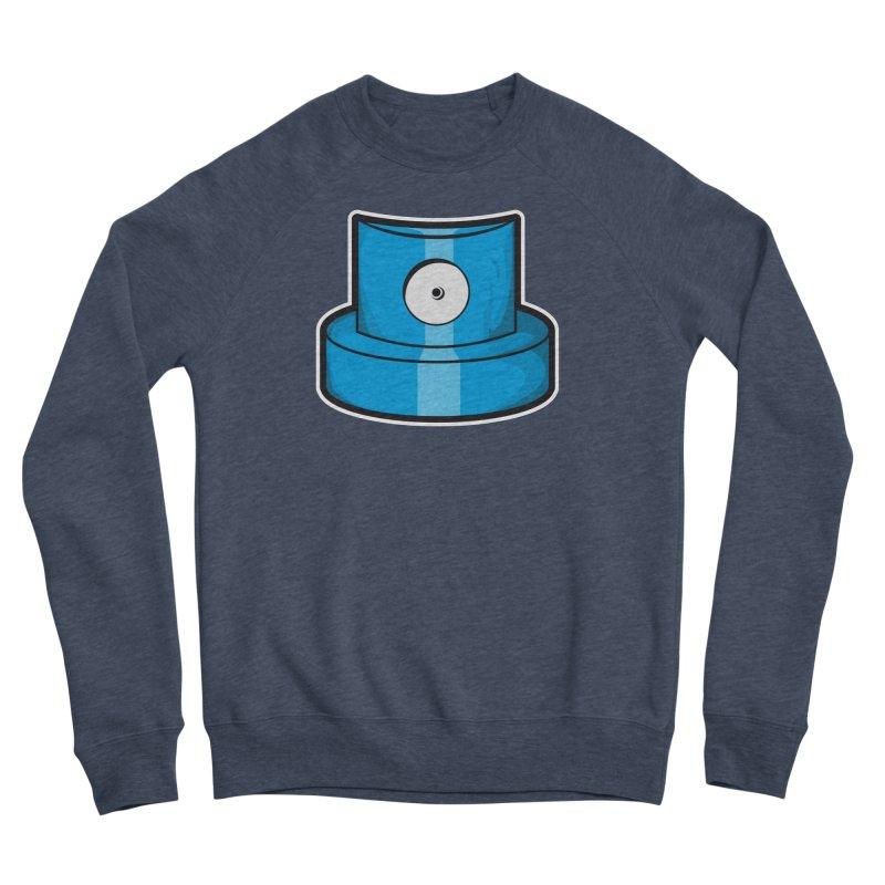 blue cap Women's Sponge Fleece Sweatshirt by manuvila