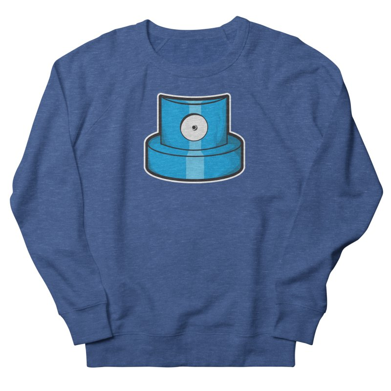 blue cap Men's Sweatshirt by manuvila